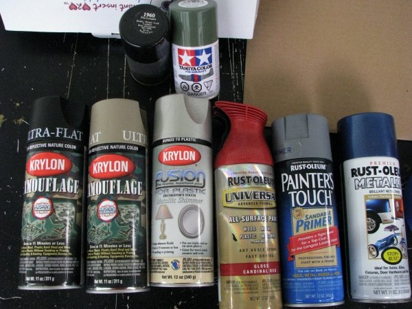Spray Paints Brands