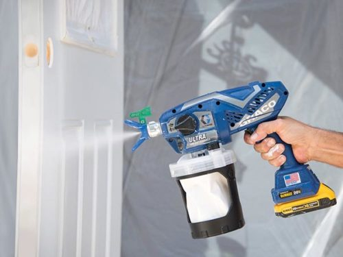 Graco Ultra Cordless Featured Images Airless Handheld Paint Sprayer 17M363