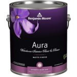 Benjamin Moore Aura Waterborne Interior Paint - Semi-Gloss-White