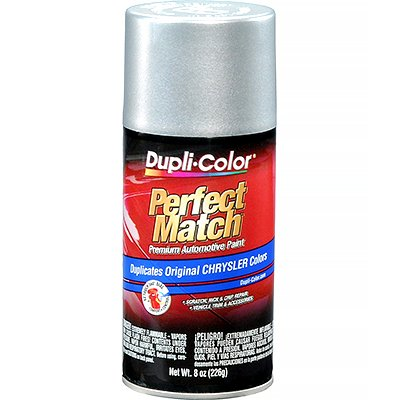 Dupli-Color EBCC0410 Bright Silver Metallic Chrysler Perfect Match Automotive Paint